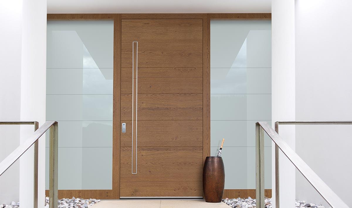 Holz- / Alu Haustüren